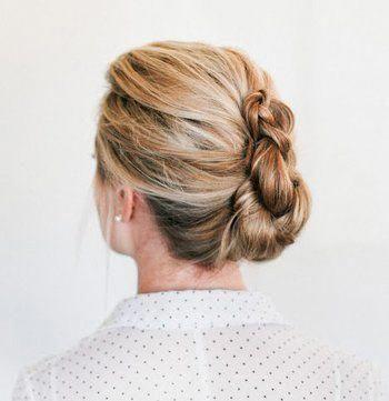 Hair Up | Modern Hair | Braided Formal Hair 20190825