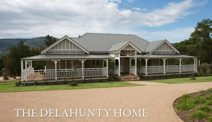 Classic Designs Classic Country Homes The Delahunty Home House