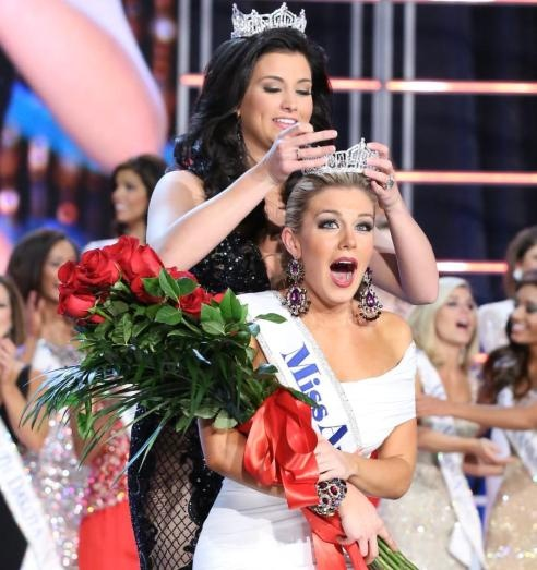 Opelika, Alabama native and former Auburn University student wins Miss America 2013 ... War Eagle!  Auburn Family