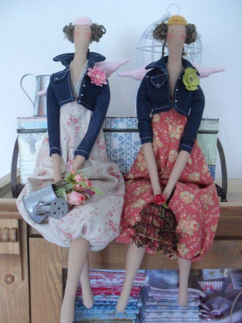 Orquídea de Feltro: Tilda's Spring Ideas