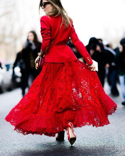 Street Chic- Red
