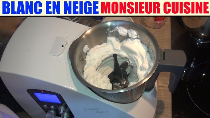 blanc en neige recette monsieur cuisine silvercrest lidl egg white clara...