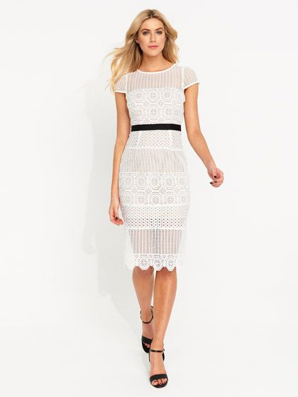 Athena Lace Dress | Portmans