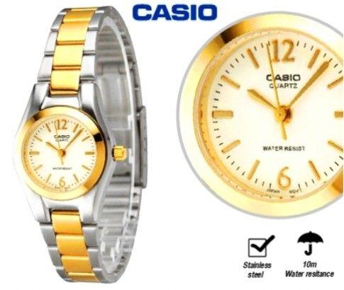 CASIO Ladies Gold Tone Quartz Watch