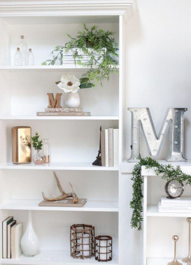 Ikeahack diy librer a billy como mueble de tv sal n for Letras decoracion ikea