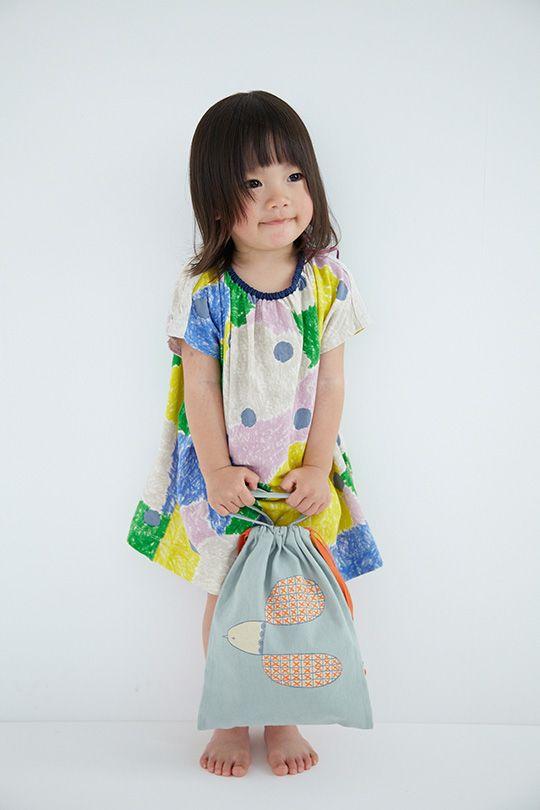 plover 巾着   minä perhonen #cute #kids #fashion