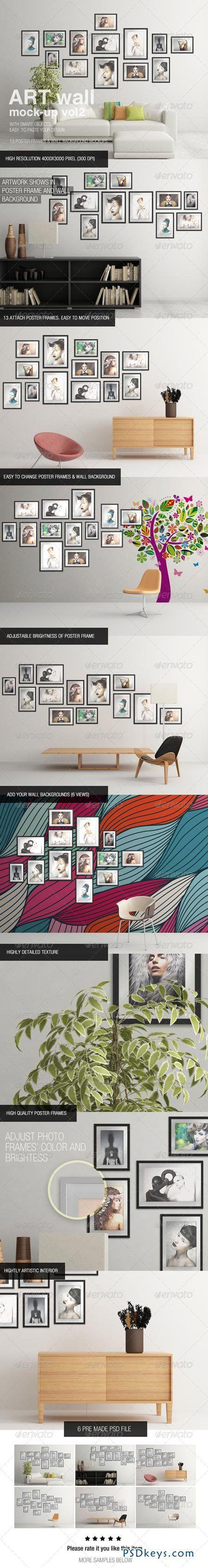 6 poster design photo mockups - 6 Poster Design Photo Mockups 17