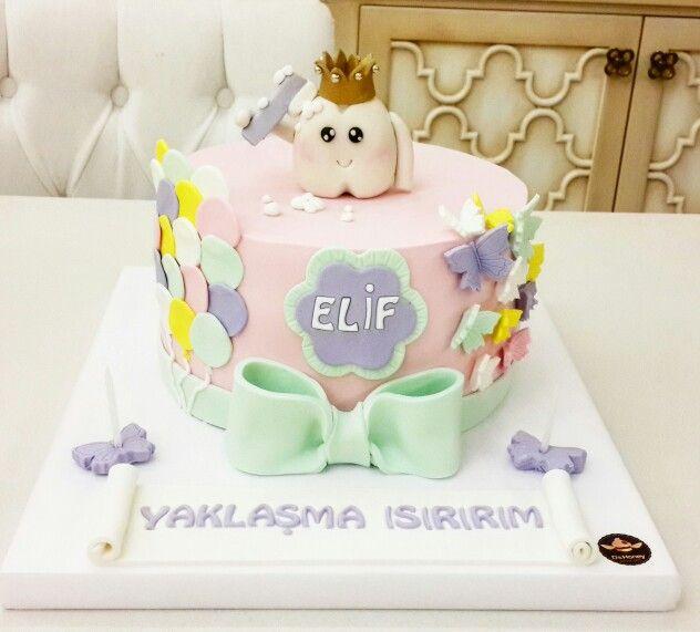 Diş Bugdayi Pastası / Baby Cake / Butik Pasta
