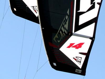 Squared Wingtips on the Nitro 2  #wingtips #switch #switchkites #kiteboarding