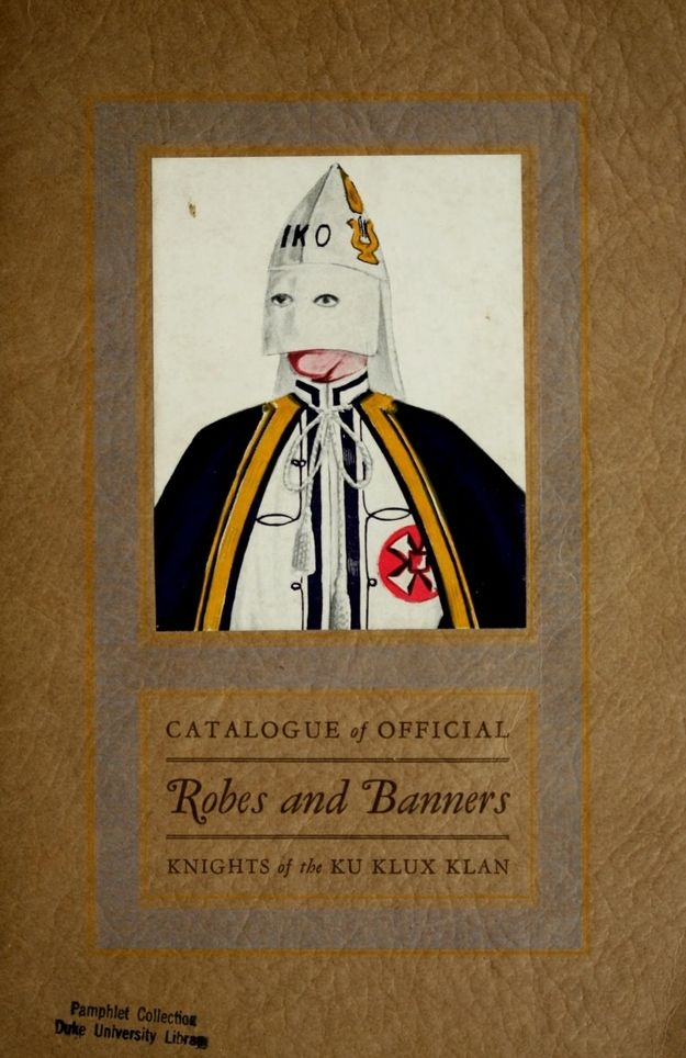 WTF!?!? Your Official Ku Klux Klan Robe Catalog.