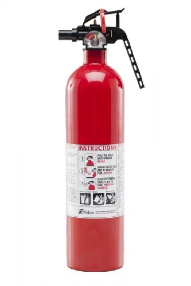 Kidde Fire Extinguisher Dry Chemical Multi Purpose 1A10BC Protection Home 1 Pack #Kidde