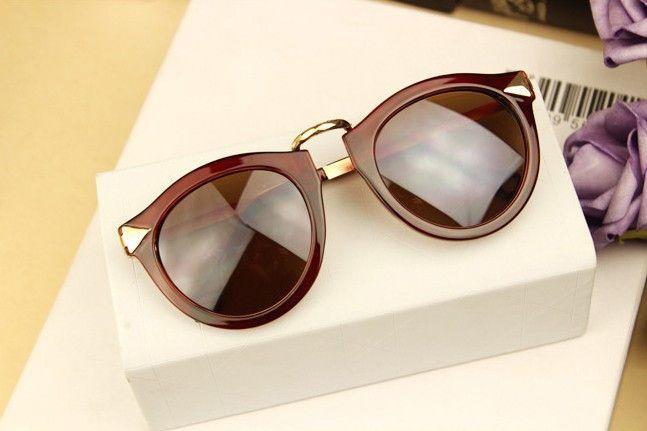 Vintage Trend Sunglasses For Women Men Round Retro Sun Glasses Sports eyewear