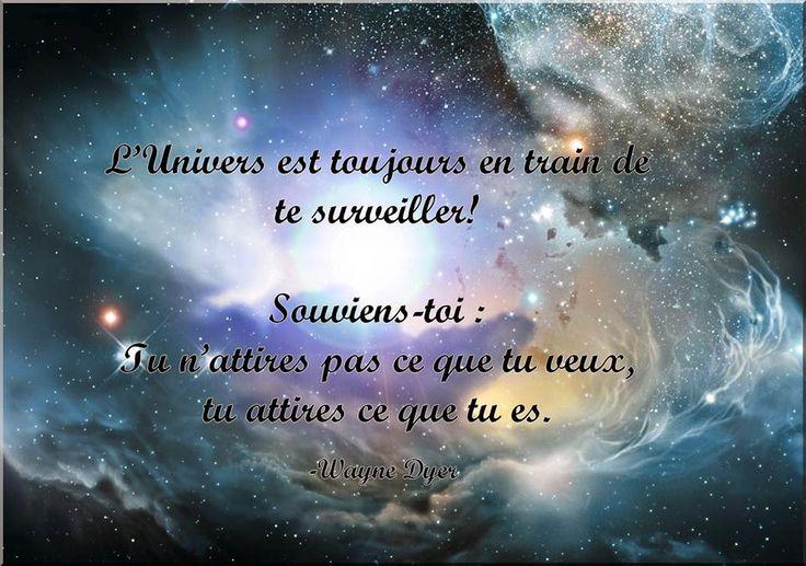 La Page de la Sagesse : Message de l'Univers