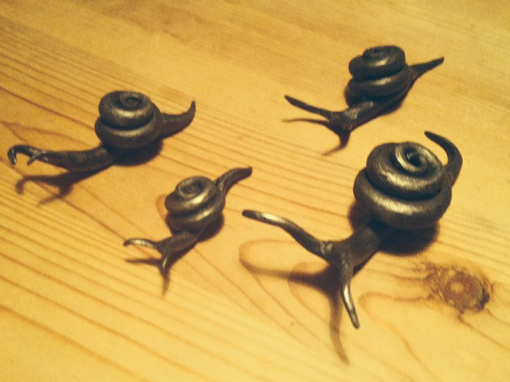 Forged snails