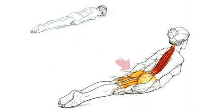 Jediné cvičenie, ktoré potrebujete pre zbavenie sa bolestí chrbta a dobré držanie tela - Domáca liečba
