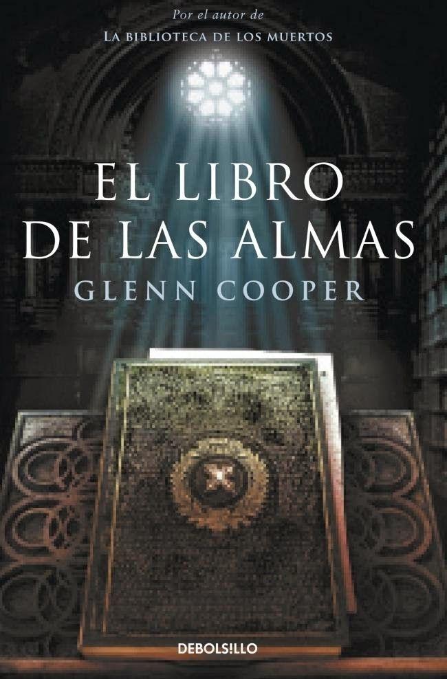 Reseña de El Libro de las Almas de Gleen Cooper.  http://miscriticassobrelibrosleidos.blogspot.com.es/2014/05/el-libro-de-las-almas-de-glenn-cooper.html  Un saludo
