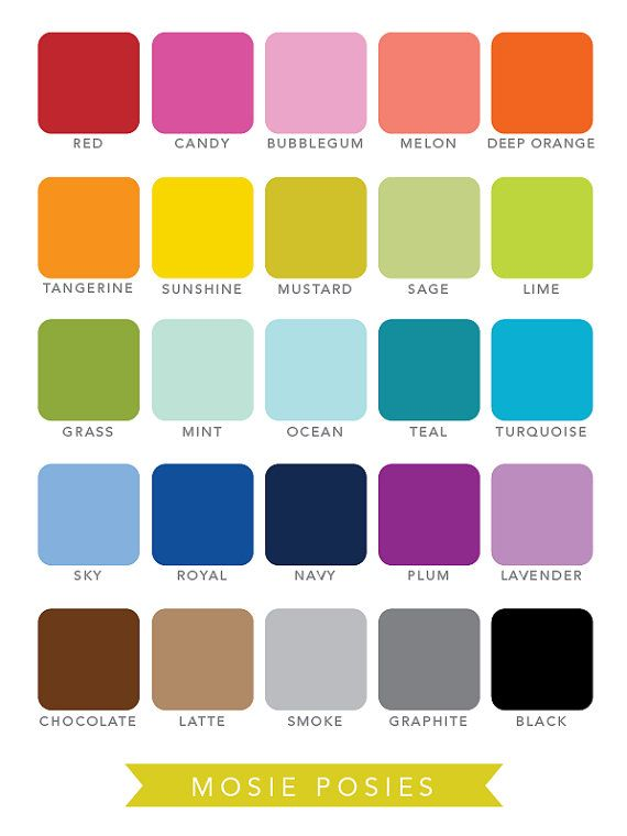 14 best Colors I Heart images on Pinterest | Esquemas de color ...