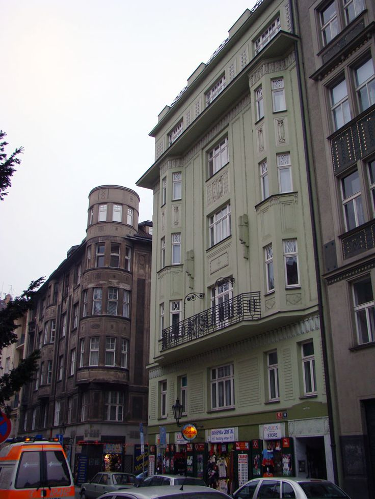 Praha, Maiselova 19 (1910, arch. Antonín Engel & Josef Žák), fot. PK