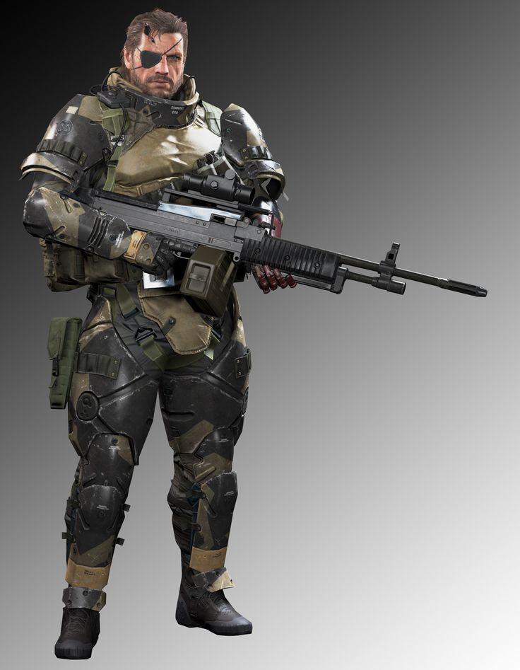 ArtStation - Metal Gear Solid V_The Phantom Pain_Big Boss_Battle Suit, Ji Ruan