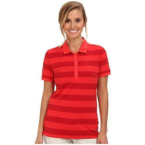 (ナイキ) Nike Golf レディース トップス ポロシャツ Bold Stripe Polo 並行輸入品  新品【取り寄せ商品のため、お届けまでに2週間前後かかります。】 表示サイズ表はすべて【参考サイズ】です。ご不明点はお問合せ下さい。 カラー:Action Red/Metallic Silver