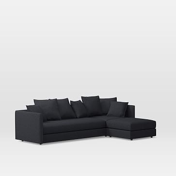 Sofa BedSleeper Sofa Serene Set Left Arm Sofa Corner Ottoman Performance Velvet Shadow