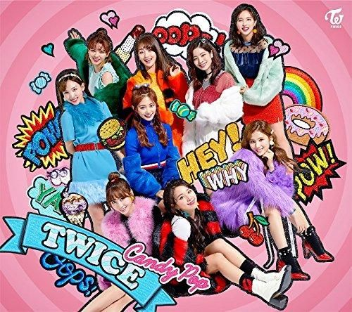 Twice Candy Pop (First Press Edition) (Type B) (JP) CD+DVD 2018 #852Entertainment #OneAsiaAllEntertainment