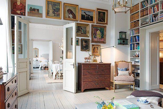 Mieszkanie w starym stylu - 114 m kw.