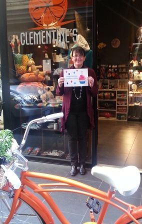 Melanie Ashe from Clementine's - stockist of Victorian-made fine food, wine & gifts - getting behind Melbourne Made Month, as part of Melbourne Day. #MelbourneDay