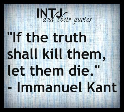 INTJ Quotes | I probably would've tried saying this less harshly, but honestly, I 100% get the underlying sentiment.