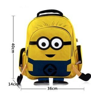 Despicable Me Character Minion Kids Bag Backpack For ...