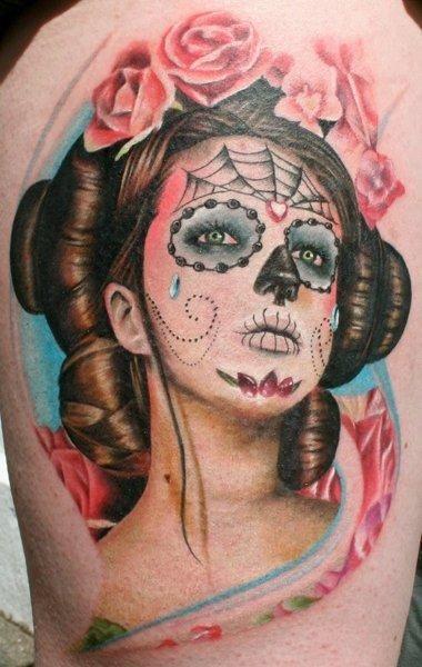 Luv thisCandies Skull, Tattoo Ideas, Sugar Skull Tattoo, Tattoo Artists, Portraits Tattoo, Mexicans Skull, Ink Tattoo, Dead, Traditional Tattoo