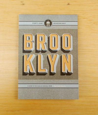 Herb Lester Associates Map - Brooklyn:41 Reasons Why (New York)