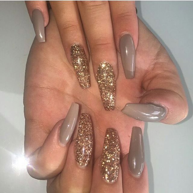 @truubeautys - Best 25+ Acrylic Nails Glitter Ideas On Pinterest Sparkly