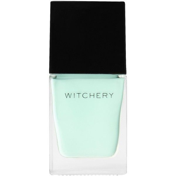 Witchery Gel Nail Polish ($10) ❤ liked on Polyvore featuring beauty products, nail care, nail polish, beauty, makeup, nail, mint, gel nail color, mint green gel nail polish and gel nail care