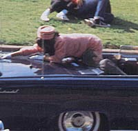 John Kennedy shot, the assassination of one of the greatest leaders of modern times, JFK.