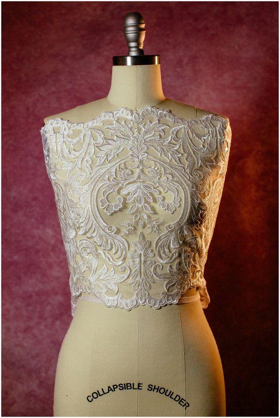 Guipure Lace trim Bridal Lace trim Bridal Bolero Lace Soft