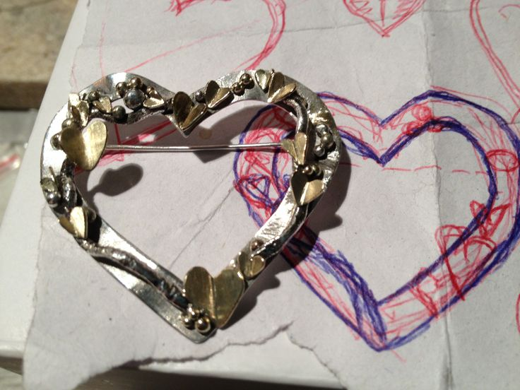 The Hart of Life In silver and gold