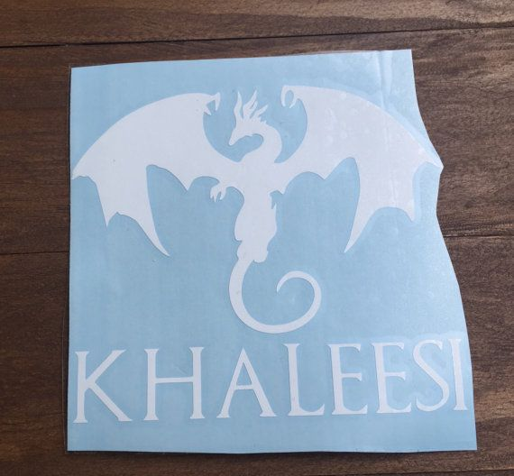 Game of thrones khaleesi dragon fire print house targaryen daenerys targaryen car decal laptop macbook yeti decal
