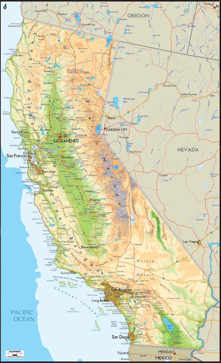 Best California Geography Images On Pinterest Beautiful - Mountain ranges of the united states