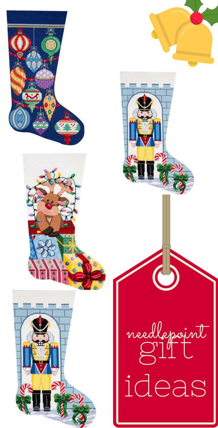 53 best Needlepoint Stockings Christmas images on Pinterest ...