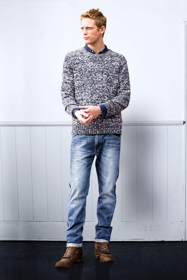 Sweter + denim = <3