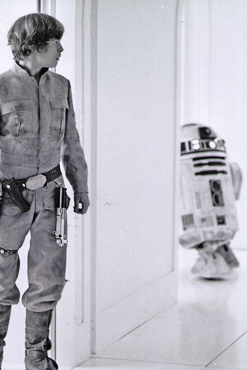 Luke and Artoo.