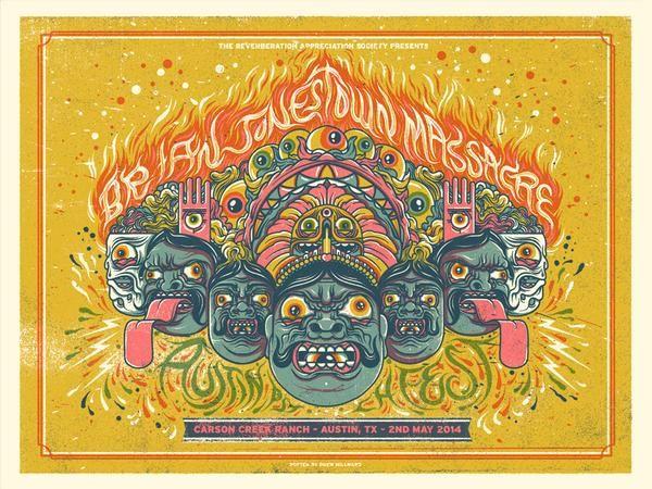 APF2014 - THE BRIAN JONESTOWN MASSACRE - BY DREW MILLWARD