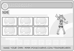 Trainer Card
