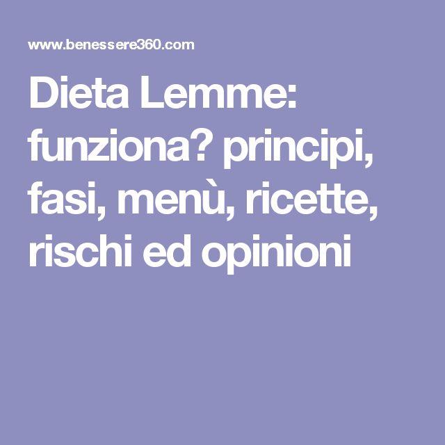 Dieta Lemme: funziona? principi, fasi, menù, ricette, rischi ed opinioni