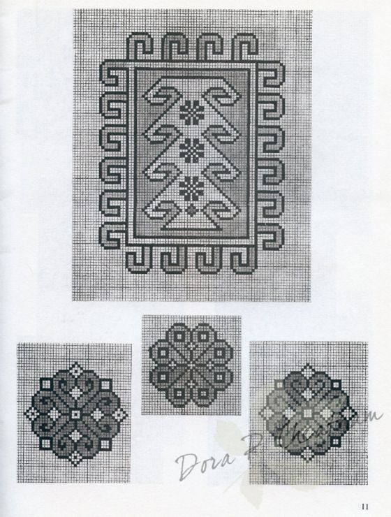 Gallery.ru / Фото #23 - Persian Rug Motifs for Needlepoint - Dora2012 page 11 (11 of 48)