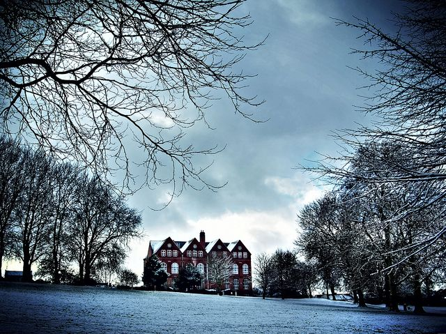 The Old Grammar School in the Snow - St Georges Park Bristol | Flickr - Photo Sharing!
