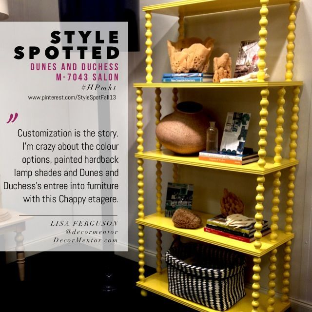love the colour options hardback lampshades super tall floor lamps and their entree into furniture with this chappy etagere dunes and duchess salon