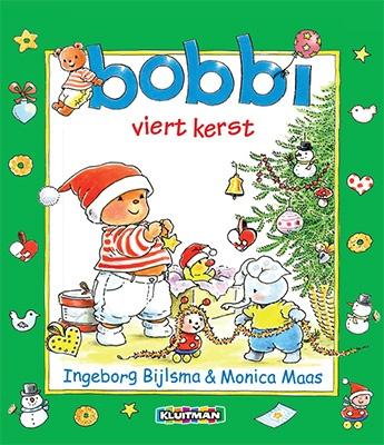 Bobbi viert kerst - Groot formaat. Geschreven door Ingeborg Bijlsma - illustraties Monica Maas