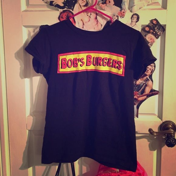 Bobs Burgers T shirt Awesome. Not unif UNIF Tops Tees - Short Sleeve